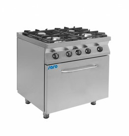 Saro Saro gas stove with electric oven 4 or 6 burners