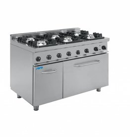Saro Saro gas cooker with electric oven 6 burners