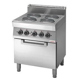 Modular Modular electric stove with electric oven
