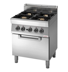 Modular Modular gas stove with gas oven
