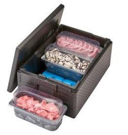 Cambro Thermobox Cam Gobox 41 liter voor ijsbakken, 20,5 cm diep