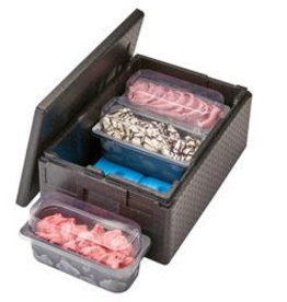 Cambro Thermobox Cam Gobox 50.5 liters for ice boxes, 25 cm deep