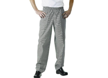 Chef's trousers and aprons