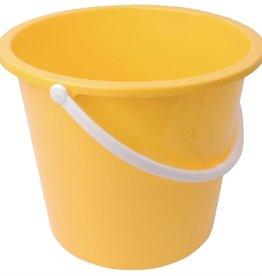 Jantex Yellow plastic bucket 10 liters