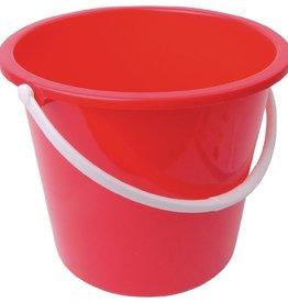 Jantex Red plastic bucket 10 liters