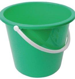 Jantex Green plastic bucket 10 liters