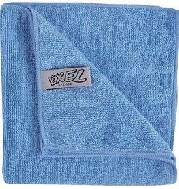 Jantex Blue microfibre cloth, pack of 5