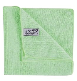 Jantex Green microfiber cloth, pack of 5