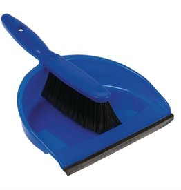 Jantex Blue brush and dustpan