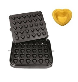 ICB Tecnologie Plate for Cook-Matic Heart 51x46/33x30 x 18(h) mm