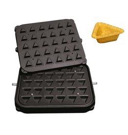 ICB Tecnologie Platte für Cook-Matic Dreieck 51x51x49/32x32x29 x 18(h) mm