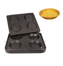 ICB Tecnologie Platte für Cook-Matic Rund 125/100 x 21(h) mm