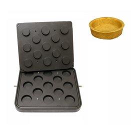 ICB Tecnologie Platte für Cook-Matic Rund 60/55 x 16 mm