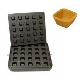 ICB Tecnologie Platte für Cook-Matic Quadrat 41x41 / 28x28 x 20 (h) mm