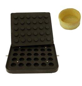ICB Tecnologie Platte für Cook-Matic Zylinder 39 x 17(h) mm
