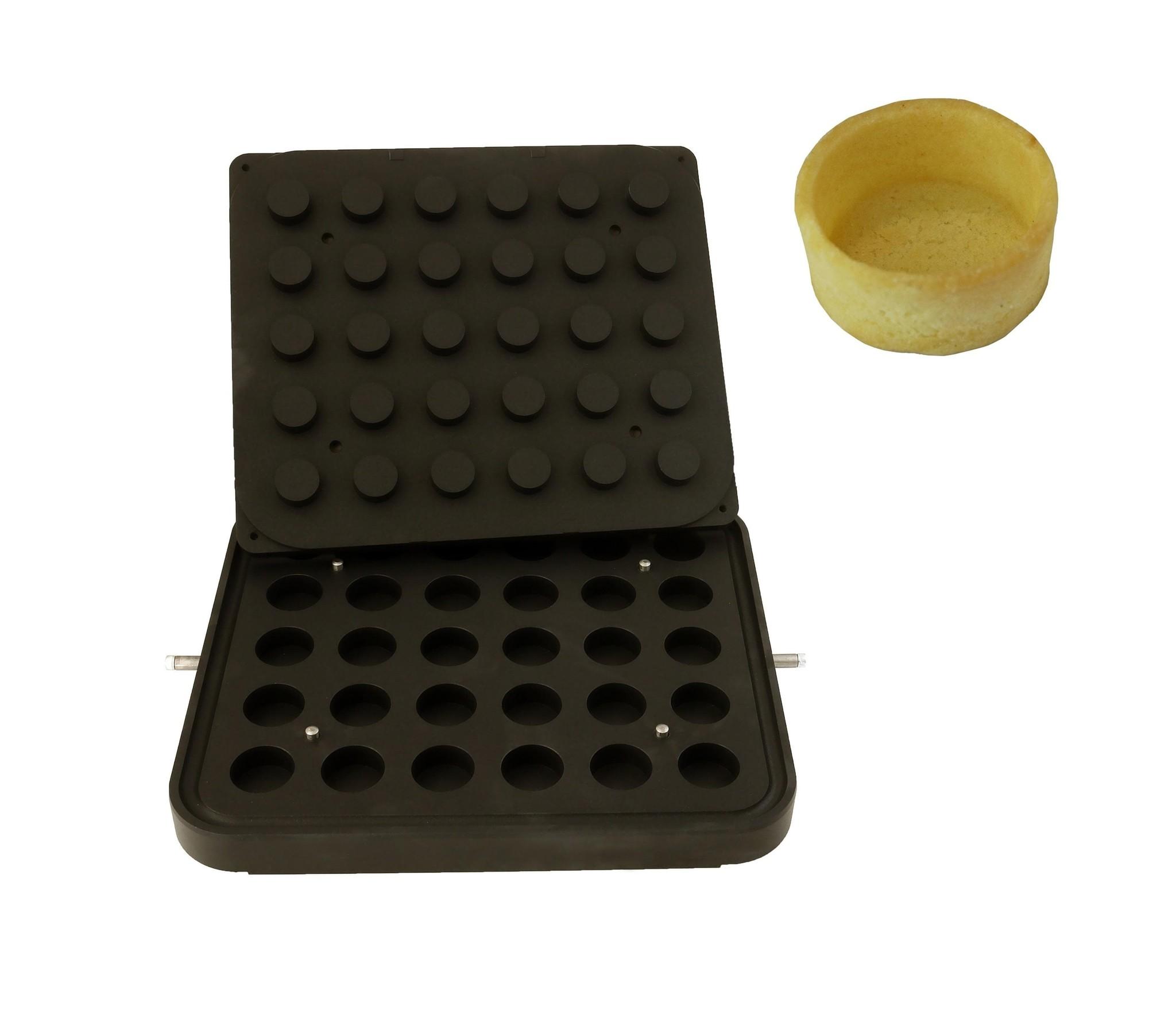 ICB Tecnologie Plaat voor Cook-Matic cilinder 39 x 17(h) mm