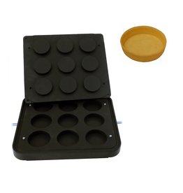 ICB Tecnologie Platte für Cook-Matic Zylinder 81 x 19(h) mm