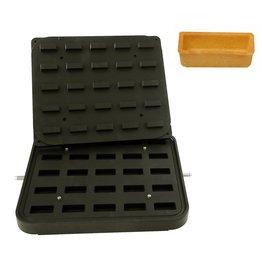 ICB Tecnologie Platte für Cook-Matic Rechteck 50 x 23 x 16 mm