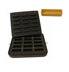 ICB Tecnologie Plaat voor Cook-Matic rechthoek 90 x 30 x 19(h) mm