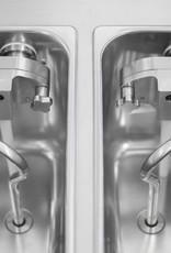 Gravinesi Ijsmachine  voor 2 smaken ijs en mix