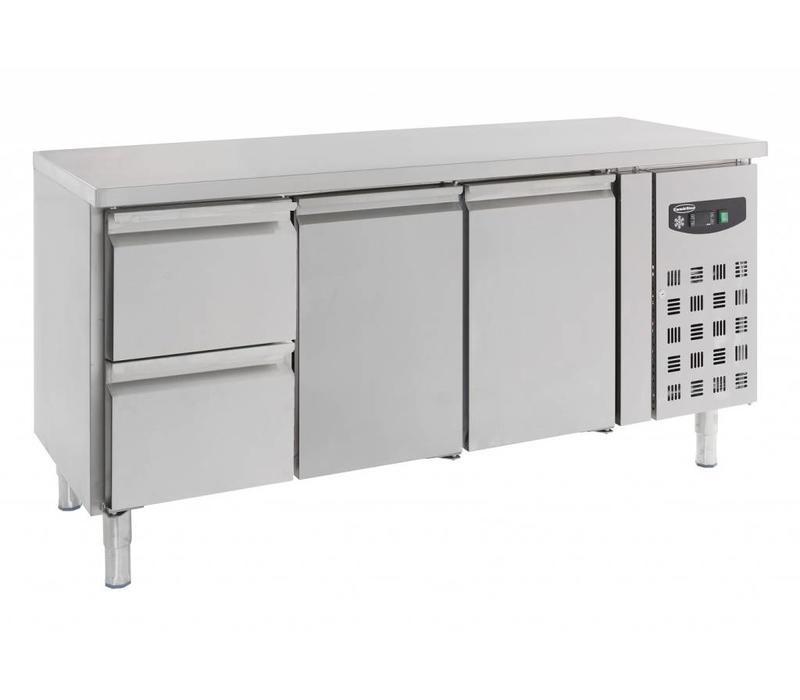 Combisteel Cooled working table 2 doors - 2 drawers