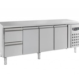 Combisteel Cooled working table 3 doors - 2 drawers