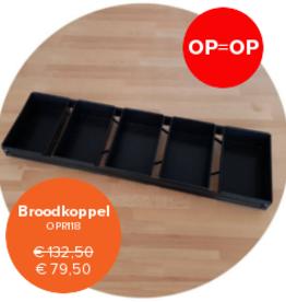 Broodkoppel 5-pans (op=op)