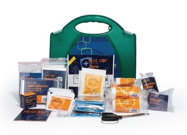 FIRST AID- and testing kits