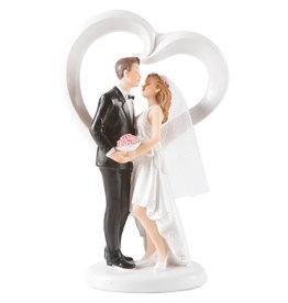 Tanzende Hochzeitspaar - Herz