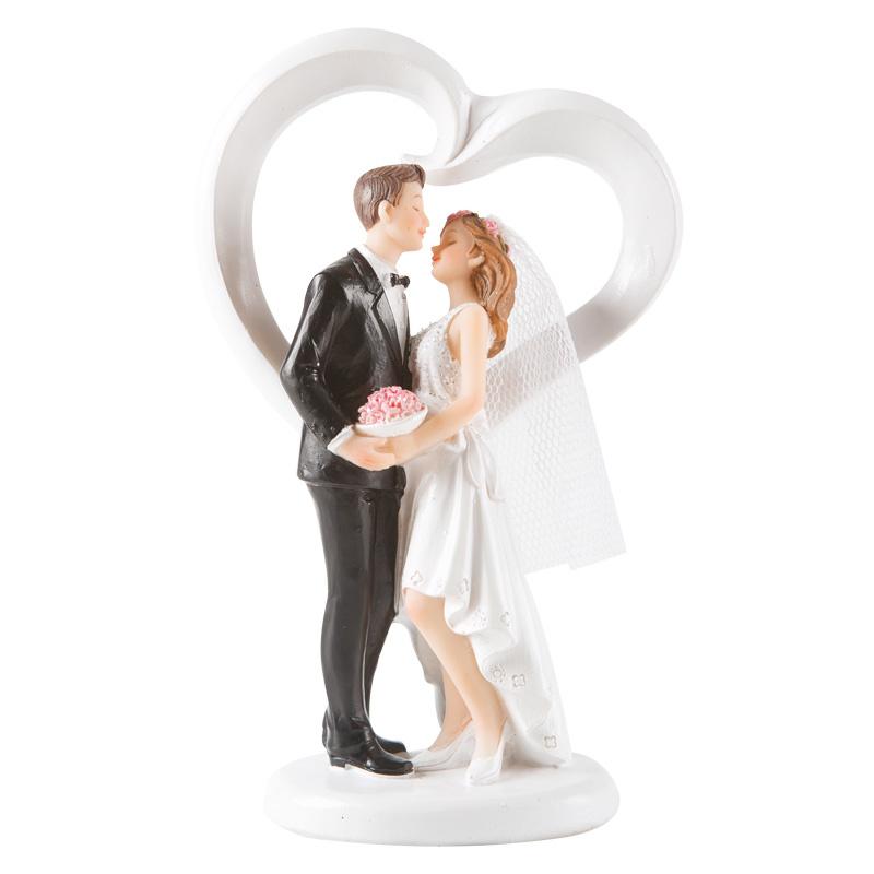 Dansend bruidspaar - hart