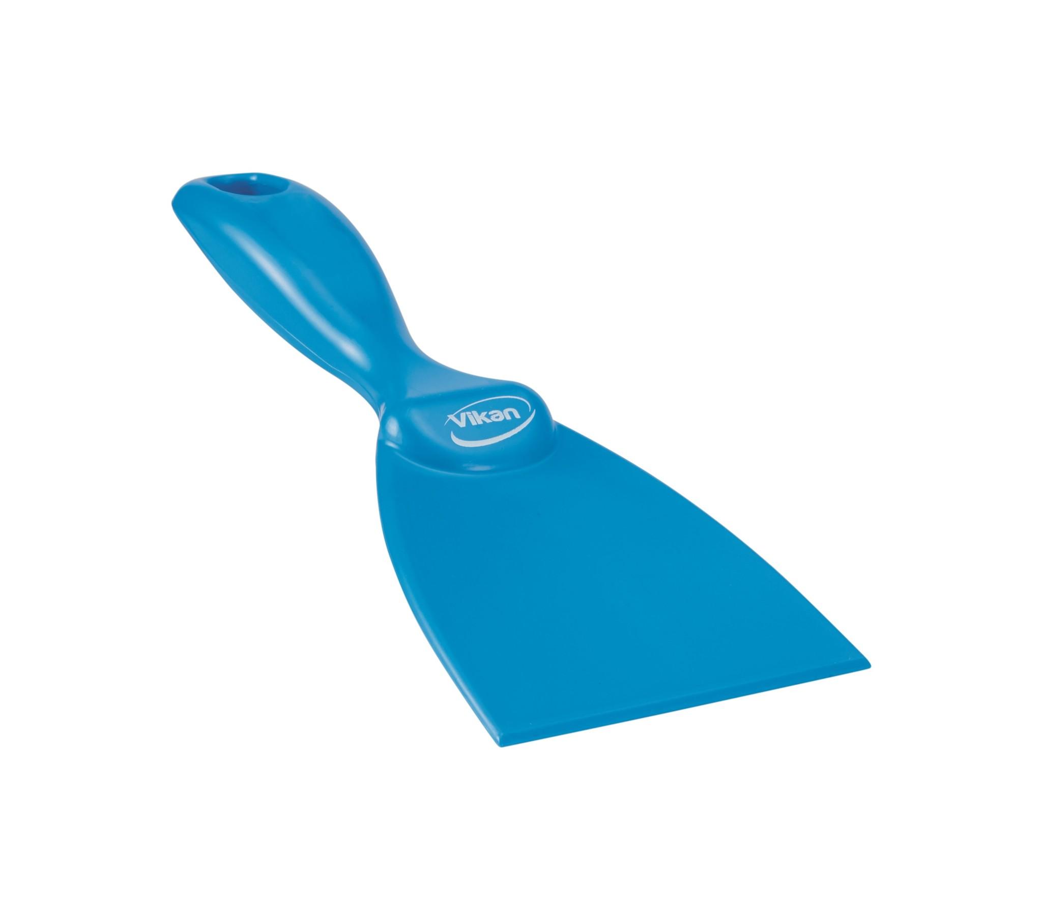 Vikan Handschraper 75 x 210 mm, blauw
