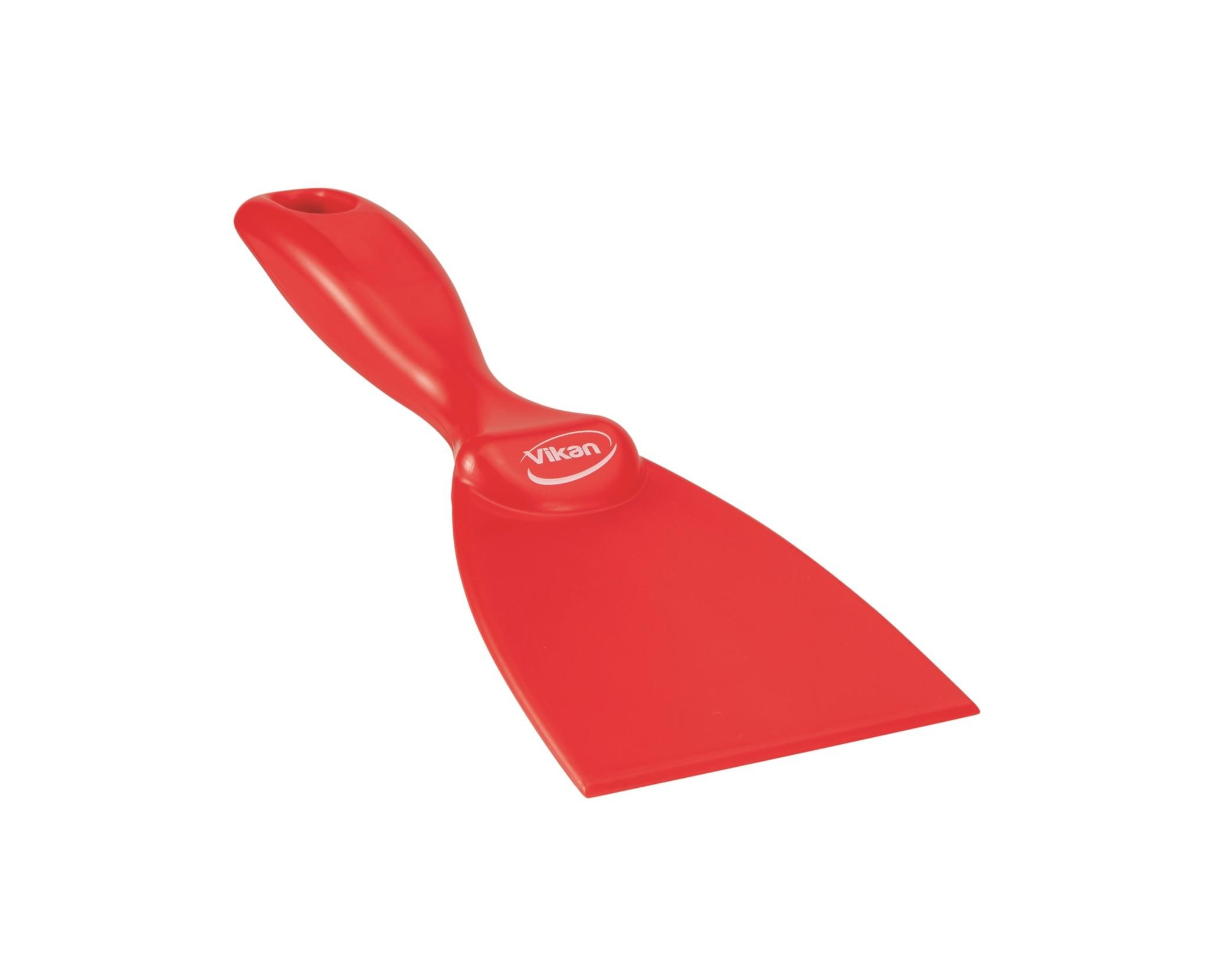 Vikan Handschraper 75 x 210 mm, rood