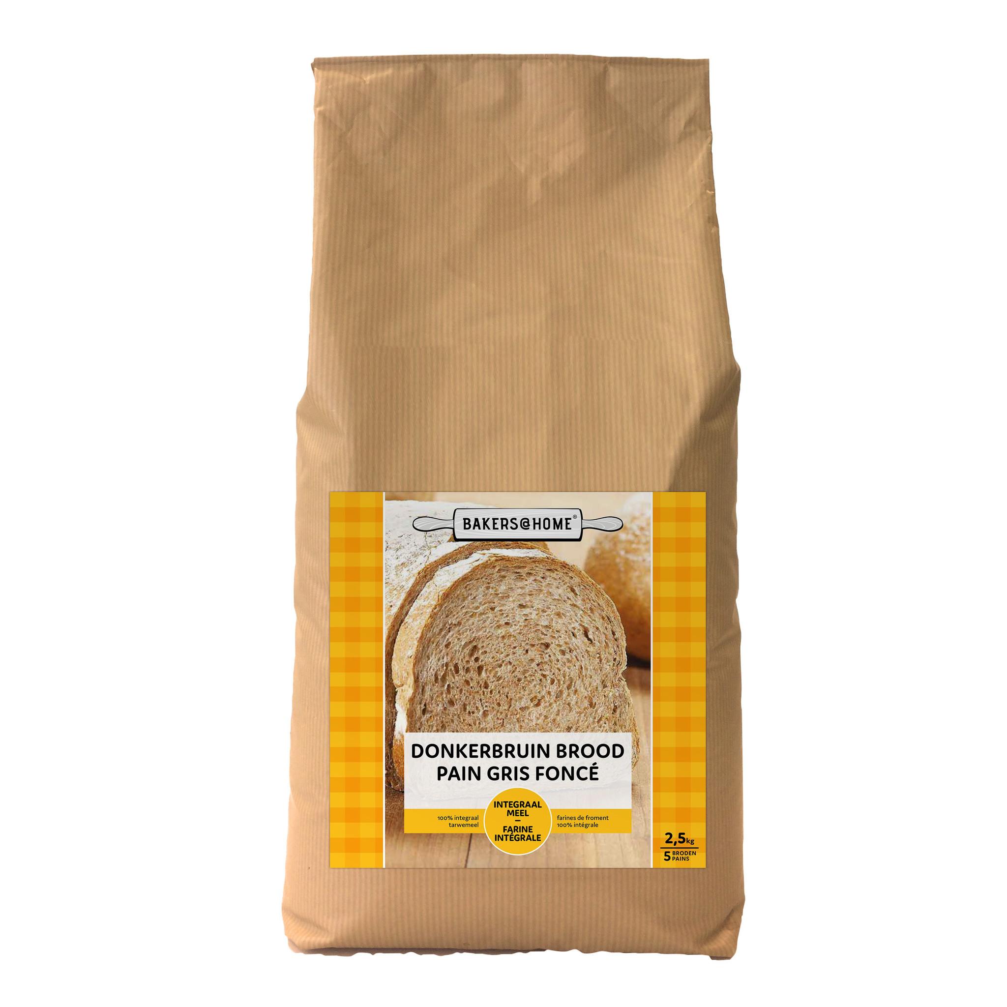 Bakers@Home Dark brown bread
