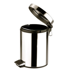 Stainless steel trash can 5 Liters