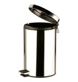 RVS Pedaalemmer 12 liter