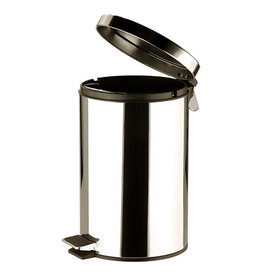 Stainless steel trash can 12 Liters