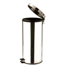 Stainless steel trash can 30 Liters
