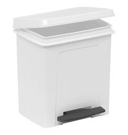 Plastic pedal bin 8 liters