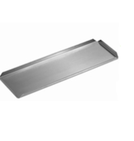 Presentation dish stainless steel 500 x 100 x 20 mm