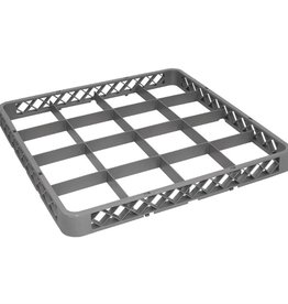 Vogue Top edge for glass washing basket