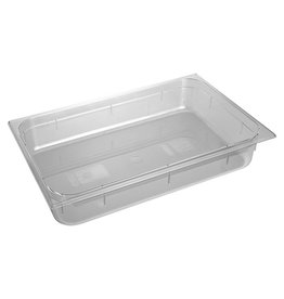 Gastronormbehälter GN 1/1 x 100 (h) mm, transparent