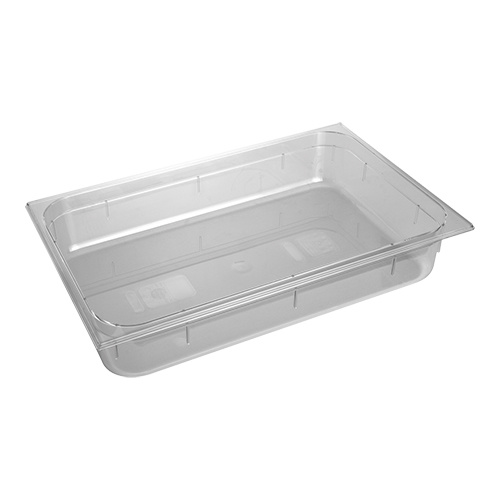 Gastronorm container GN 1/1 x 100 (h) mm, transparent