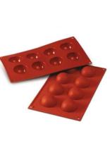 Silikomart Baking mat 8 hemispheres