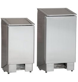 Combisteel Waste bin with foot pedal 90L