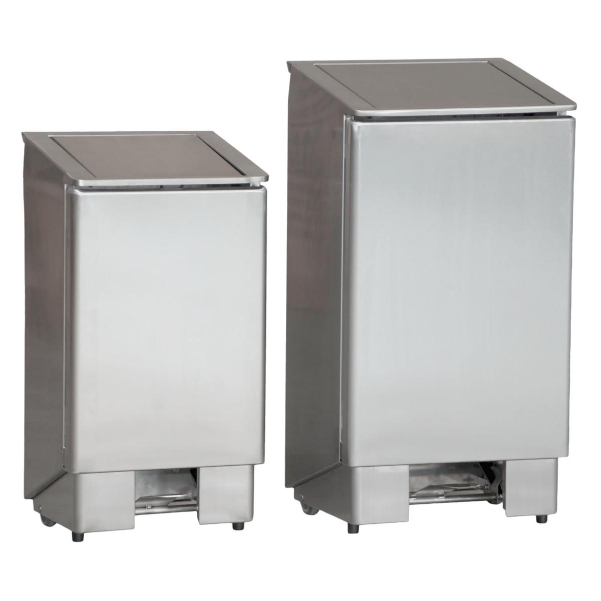 Combisteel Abfallbehälter mit Fußpedal 60L