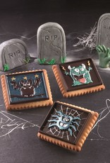 Silikomart Mal voor monster cookies (Halloween)