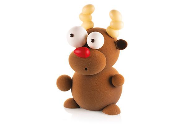 Silikomart 3D Schokoladenform Rudolf