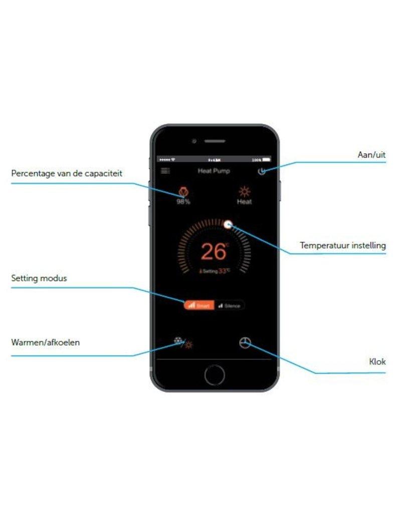 PPG Zwembad warmtepomp PPG Inverter Plus IPH 25 (10 kW)