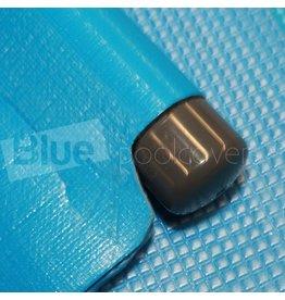 Blue poolcovers Drijfbuis aan trekzijde