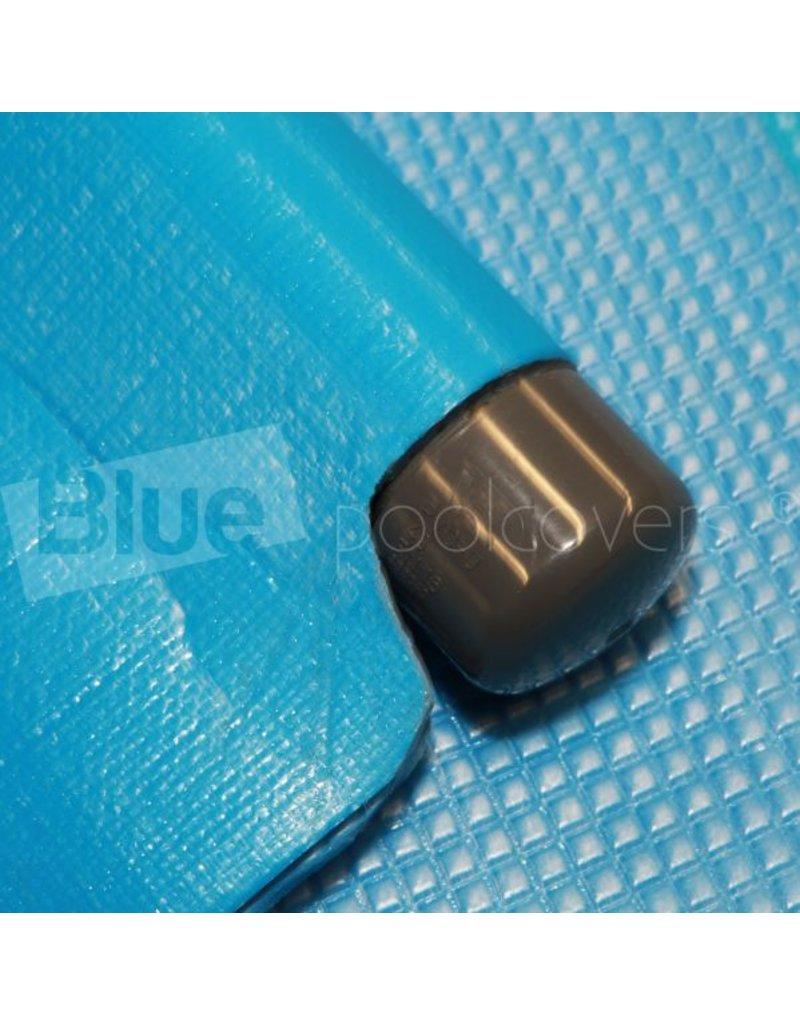 Blue poolcovers Drijfbuis aan trekzijde zomer dekzeil maken